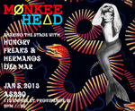 Monkee Head, January 5, 2013