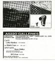 AS220 Galleries: December 18- January 10, 1998 (Cathy Hamilton, Shawn Wallace, and Jill Colinan)