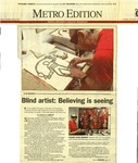 Blind Artist: Believing Is Seeing