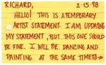 Jacqueline Celeste [Temporary Artist Statement]