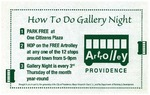 How To Do Gallery Night