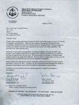 Letter to Rose cantu from State of Rhode Island and Providence Plantations Department of Education