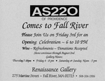 AS220 Comes to Fall River July 3-August 2, 1998