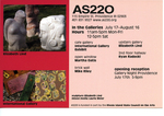 AS220: In the Galleries July 17-August 16, 2003