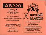 AS220 at Gallery X May 9-31, 1998