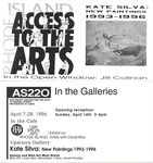 AS220: In the Galleries April 7-28, 1996