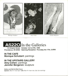 AS220: In the Galleries October 1-27, 1996