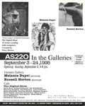 AS220: In the Galleries September 3-24, 1995