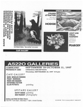 AS220: In The Galleries September 18-October 11, 1997
