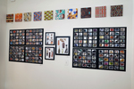 Installation View of The Paper Dolls Project and Generations | 8 Chapters Blooming