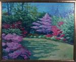 Azalea Garden Afternoon by Juan J. Lins-Morstadt