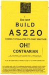 I Did Not Build AS220: I Merely Stimulated It's First Erection