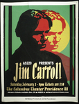 AS220 Presents Jim Carroll (Event Poster)