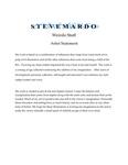 Steve Mardo (Artist Statement)