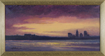 Sunset on Providence, RI