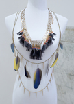 Spiked Chain and Geometric Chain Neckpiece