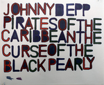 Johnny Depp Pirates of The Caribbean The Curse of The Black Pearly