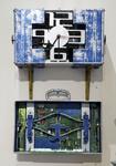 Acme Suitcase Clock & Secret Agent Clock
