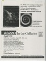 AS220: In The Galleries April 9- April 30, 1995