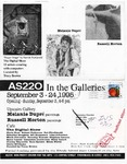 AS220: In The Galleries September 3- September 24, 1995