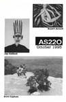 AS220: In the Galleries October 8- October 29, 1995