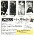 AS220: In The Galleries May 5- May 26, 1996