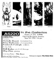 AS220: In The Galleries June 2- June 23, 1996
