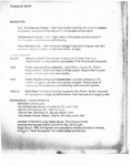 Thomas M. Morin [Resume]