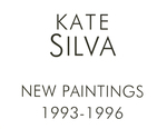 New Paintings Exhibition Poster 1993-1996 (AS220: In the Galleries April 7- April 28, 1996)