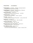 Thomas M. Morin List of Exhibitions 1991-1996