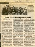 Arts to converge on park