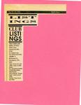 Listings: Club Listings May 16- May 22, 1990