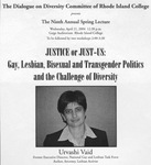 Urvashi Vaid: Justice or Just-Us: Gay, Lesbian, Bisexual and Transgender Politics and the Challenge of Diversity (2004)