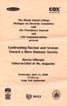 Marcia Ann Gillespie: Confronting Racism and Sexism: Towards a More Humane Society (2000)