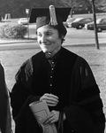 Gertrude Himmelfarb, Graduate Commencement Speaker, 1976