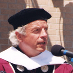 Dr. Spalding Gray, Undergraduate Commencement Speaker, 1998