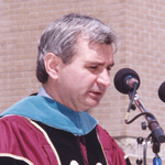 Senator Jack Reed, Undergraduate Commencement Speaker, 1999
