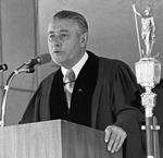 Joseph R. Weisberger, Undergraduate Commencement Speaker, 1973