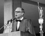 Daniel J. Boorstin, Graduate Commencement Speaker, 1974 by Daniel J. Boorstin