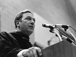 Julian Jaynes, Graduate Commencement Speaker, 1979