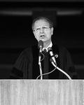 Robert P. Straetz, Undergraduate Commencement Speaker, 1980