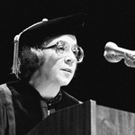 Arlene Croce, Winter Commencement Speaker, 1983