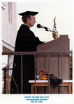 Rear Admiral Pauline M. Hartington, Commencement Speaker, 1983