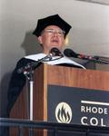 Gilbert Melville Grosvenor, Commencement Speaker, 1991