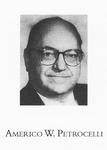 Americo W. Petrocelli, Winter Commencement, 1990