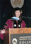Judith K. Sweeney, Graduation Commencement Speaker, 1995