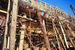 Rebuilding of the Ernestina