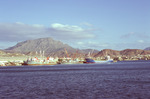 Scenes of Mindelo: Porto Grande from Mindelo Bay