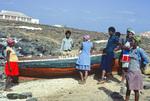 Villagers on the Shore at Baìa das Gatas
