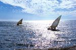 Sail Boats near Tarrafal, São Nicolau